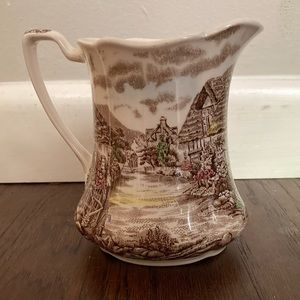 16 Oz Pitcher Olde English Countryside